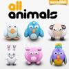 أيقونات حيوانات (مجموعة Archigraphs Animals Icons)