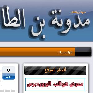 مدونة بن الطاهر