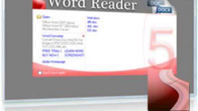 Photo of برنامج Word Reader لقراءة جميع ملفات Word