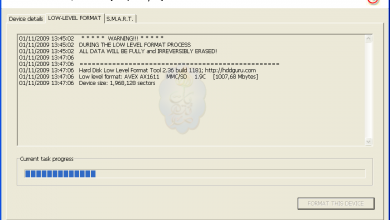 Photo of شرح أداة HDD Low Level Format Tool لتهيئة وإصلاح وسائط التخزين المختلفة..