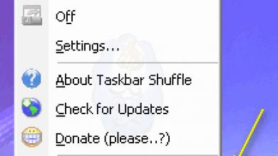 Photo of برنامج Taskbar Shuffle لترتيب البرامج المفتوحة في شريط المهام للويندوز