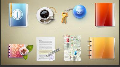Photo of حزمتان من الأيقونات الجميلة لأصحاب المواقع (Lovely website icons pack 1 + 2)