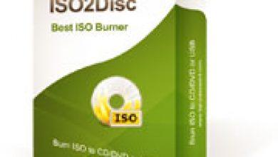 Photo of برنامج ISO2Disc خاص لحرق ملفات بامتداد ISO