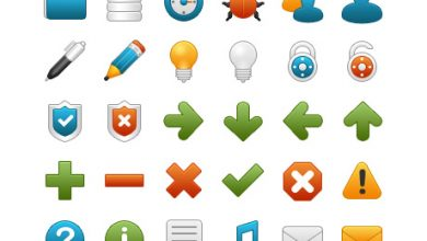 Photo of حزمة الأيقونات Onebit free icon set #1 (المجموعة 1)