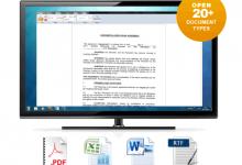 Photo of برنامج FREE Document Viewer لفتح الملفات