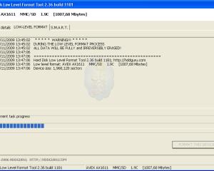 شرح أداة HDD Low Level Format Tool لتهيئة وإصلاح وسائط التخزين المختلفة..