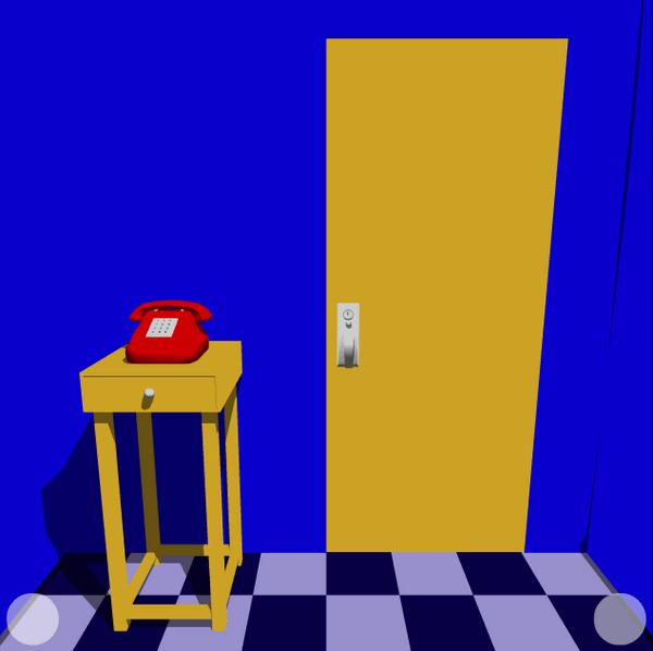 لعبة الغرفة الزرقاء