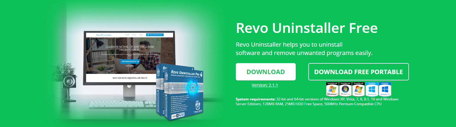 برنامج Revo Uninstaller FREEWARE