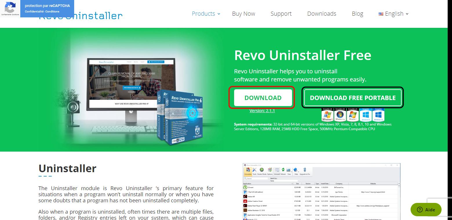 برنامج Revo Uninstaller FREEWARE الخيار المجاني لإزالة البرامج من جذورها